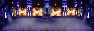 Wraith Queen Nightstorm throne room. by utan77