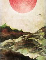 Red Mountain Sun by davebold370