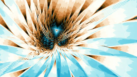 Flower Blue by davebold370