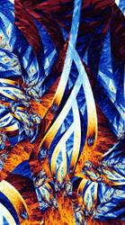 Flirting Flames by davebold370