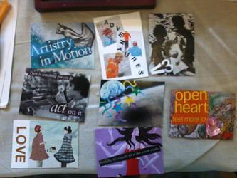 Artist Trading Cards 11 by readheadgirl