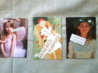 Artist Trading Cards 13 by readheadgirl