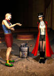 The_damsel_and_the_clown_05 by hookywooky