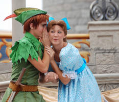 Peter Pan and Wendy by CaitrinXlXAnneliese