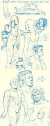 Sketches - bodies by Apply-Some-Pressure