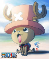 tony tony chopper collab by limandao