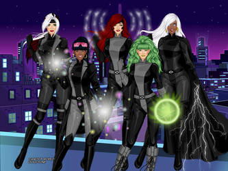 X-Women - Leather by Starartista87
