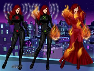 X-Men Jean Grey - Phoenix by Starartista87