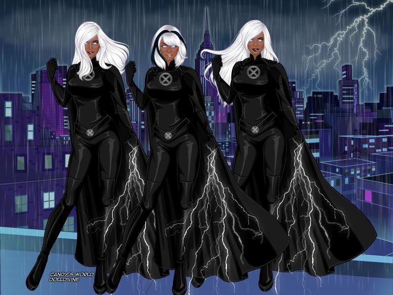 X-Men Storm by Starartista87