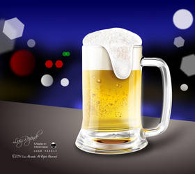 Beer in the Night by luizrezende