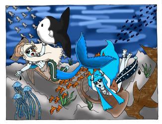 Sea Dance by sandapolla
