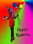 Happy Birthday DJ Boom Base by sandapolla