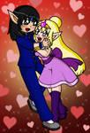 Love Couple 10 : Comet + Starra by sandapolla