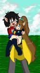 Love Couple 4: Nova and Zunny by sandapolla