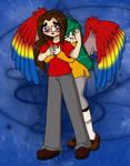 Love Couple 3 : RBG and Paulie by sandapolla