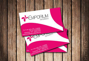 Business Card Emporium Beleza by Menegolo