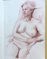 2 hours life drawing by jgoytizolo