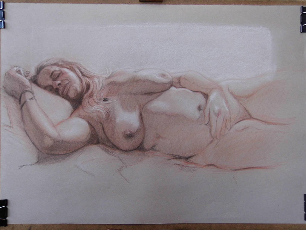 Private commission life drawing by jgoytizolo