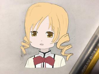 Concerned Tomoe Mami - Madoka Magica Fanart by robskind