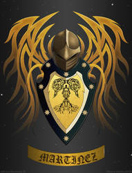 Martinez Coat of Arms by TheoryGarcia