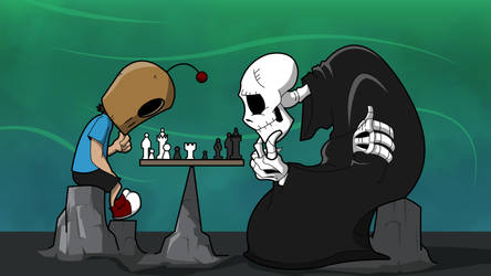 A Game With death by TheoryGarcia
