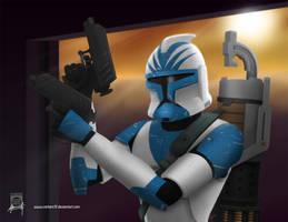 Clone Trooper Havok by Mauricio-Morali