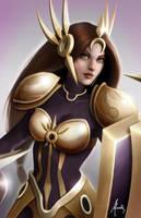 Leona - League of Legends by Mauricio-Morali