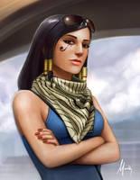 Pharah by Mauricio-Morali