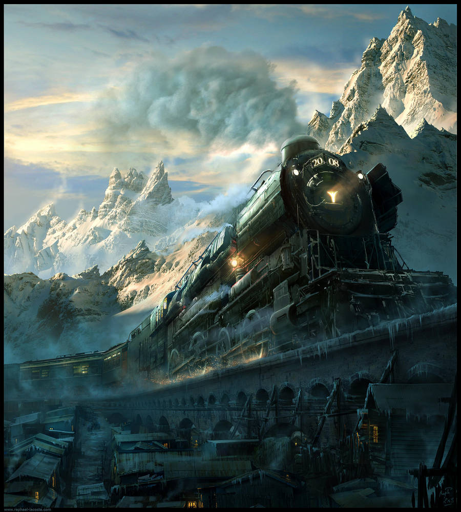 Arctic Express 2008... by Raphael-Lacoste