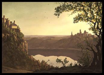 Lake ... by Raphael-Lacoste