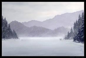 White Lake by Raphael-Lacoste