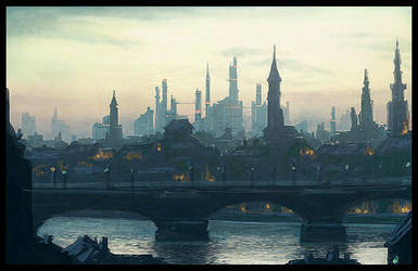 stockholm 2030, 2:30 pm. by Raphael-Lacoste
