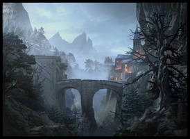 Workshop Painting by Raphael-Lacoste
