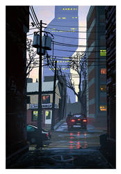 Montreal's Spring by Raphael-Lacoste