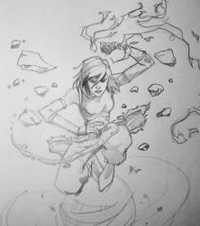 Avatar Korra by AaronDockery