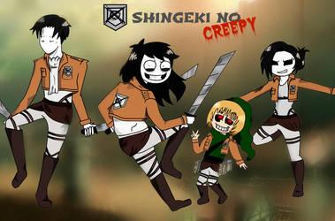 Shingeki no CREEPY by CreepyAdventures