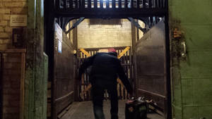 loading out after Late Night @ PhantomoshopMKE  by Phantomoshop