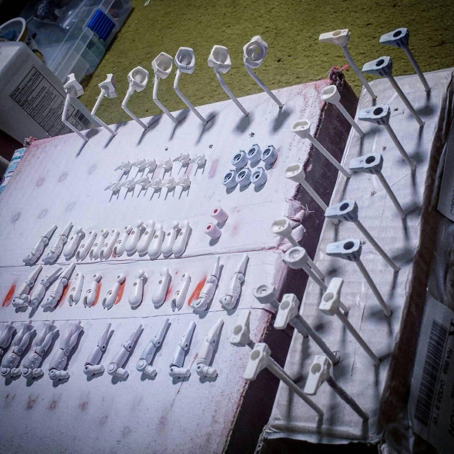 Priming before customization  by Phantomoshop