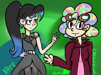 rainbow nerd squad by blinxnot