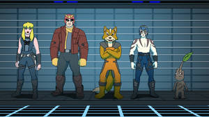 Commission - Nintendo Guardians of the Galaxy by RetroUniverseArt