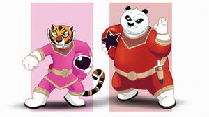 Commission - Kung Fu Zeo Rangers by RetroUniverseArt