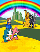 Commission - Care Bears in Oz by RetroUniverseArt