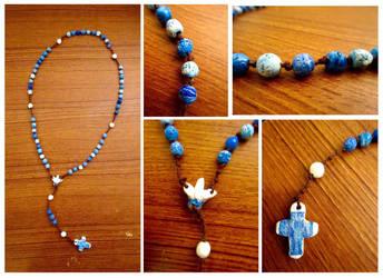 Clay Rosary by ShenaniBOOM