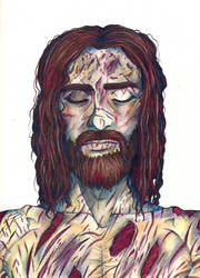 Jesus-His Burial by ShenaniBOOM