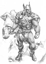 Thor sketch by MicoSuayan