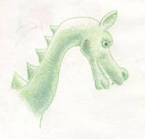 Green Dragon by heathweaver