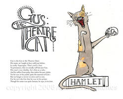 Gus the Theatre Cat by littlecrow