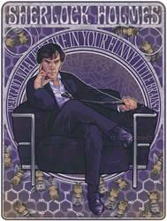 Sherlock by littlecrow