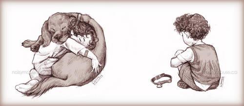Sherlock and Redbeard by littlecrow