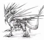 Vispro Dragon by littlecrow